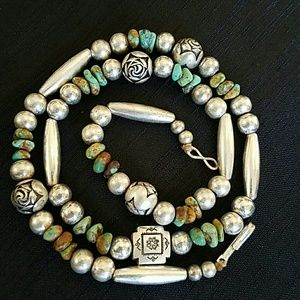 Southwestern Native Turquoise Necklace